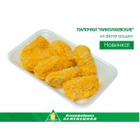 """Палочки """"Николаевские"""" из нежного филе куриной грудки в панировке"""