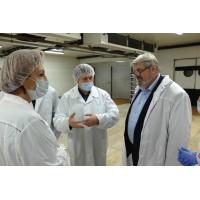 Министр сельского хозяйства и потребительского рынка Республики Коми Денис Шаронов посетил птицефабрику «Зеленецкая»